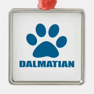 DALMATIAN DOG DESIGNS METAL ORNAMENT