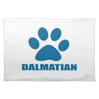 DALMATIAN DOG DESIGNS PLACEMAT