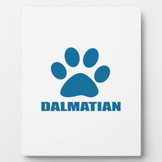 DALMATIAN DOG DESIGNS PLAQUE