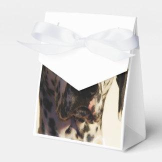 Dalmatian Dog Favor Boxes
