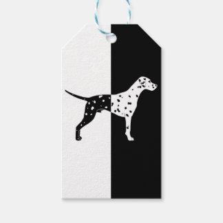 Dalmatian dog gift tags