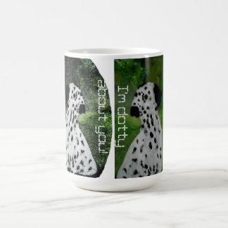 Dalmatian Dog Love Basic White Mug