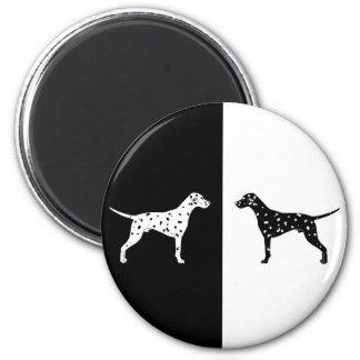 Dalmatian dog magnet