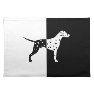 Dalmatian dog placemat