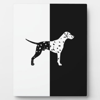 Dalmatian dog plaque