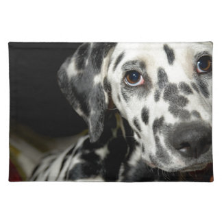 Dalmatian dog, pretty lookking placemat