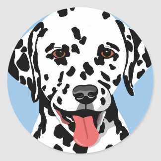 Dalmatian Dog Stickers