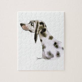 dalmatian dog, tony fernandes puzzle