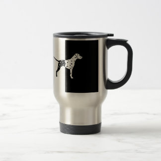 Dalmatian dog travel mug
