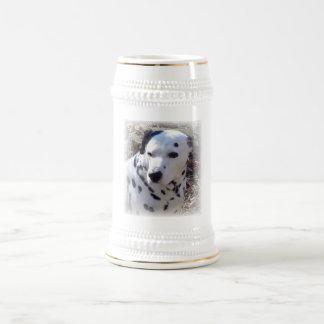 Dalmatian Fire Dog Beer Stein Coffee Mug