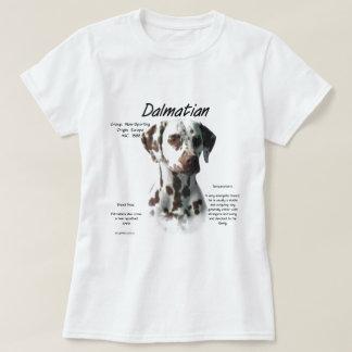 Dalmatian (liver) History Design T-Shirt