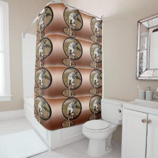 Dalmatian_On_Copper_Window_Art_Shower_Curtain