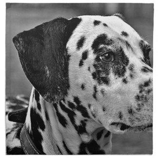 Dalmatian Pet Dog Napkin