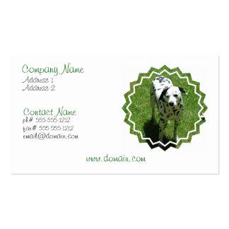 Dalmatian Photo Business Card