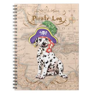 Dalmatian Pirate Notebooks