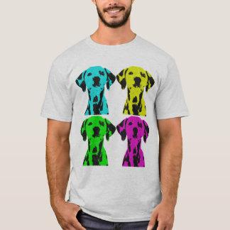 Dalmatian POP art T-Shirt