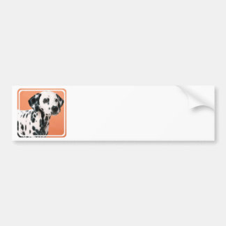 Dalmatian Puppies Bumper Stickers
