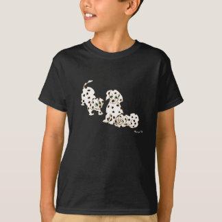 Dalmatian Puppies Kids T- Shirt