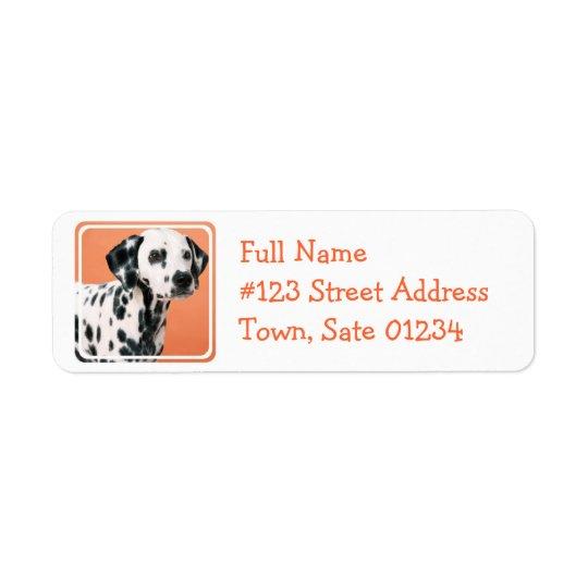 Dalmatian Puppies Mailing Label