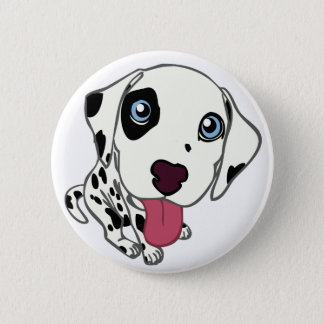 DALMATIAN PUPPY BUTTON