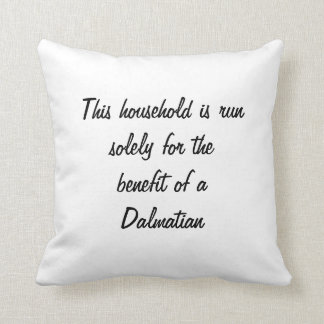 Dalmatian puppy dog cute photo cushion pillow