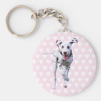 Dalmatian puppy dog keychain, gift idea keychain