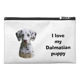 Dalmatian puppy dog photo travel accessories bags