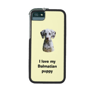 Dalmatian puppy dog photo cover for iPhone 5/5S