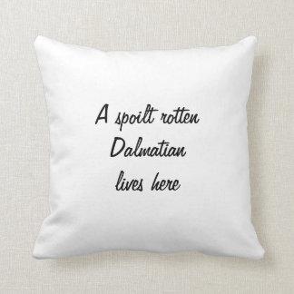 Dalmatian puppy dog photo cushion pillow