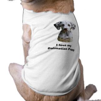 Dalmatian puppy dog photo pet t-shirt