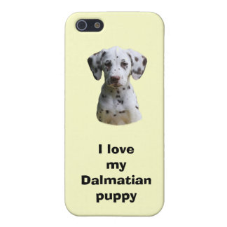 Dalmatian puppy dog photo iPhone 5 cover
