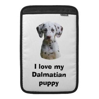 Dalmatian puppy dog photo MacBook air sleeve