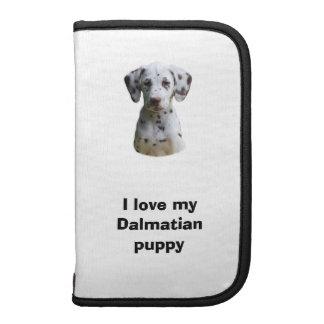 Dalmatian puppy dog photo folio planner