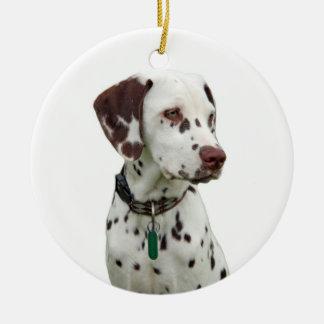 Dalmatian puppy ornament, gift idea ceramic ornament