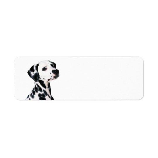 Dalmatian Return Address Label