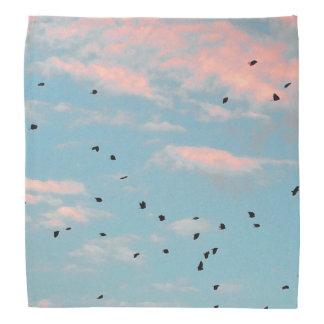 Dalmatian Sky Print Bandana