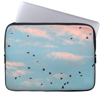 Dalmatian Sky Print Laptop Sleeve