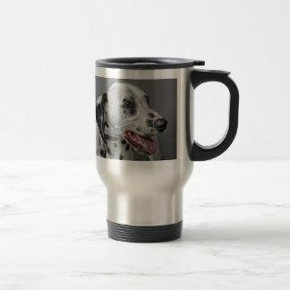 Dalmatian Smiling Travel Mug