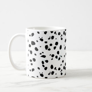 Dalmatian Spots, Dalmatian Print, Dalmatian Fur Coffee Mug