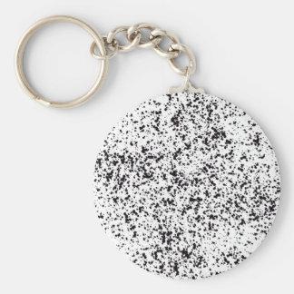 Dalmatian Spotted Key Chain