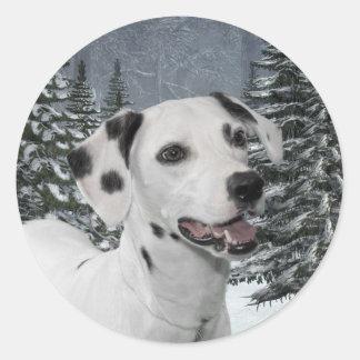 Dalmatian Stickers