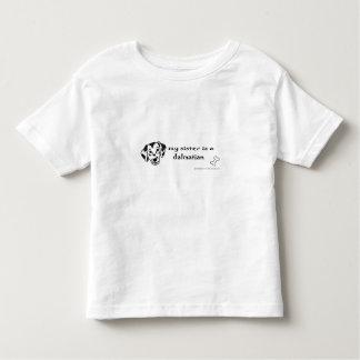 dalmatian toddler t-shirt