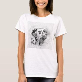 Dalmatian Watercolor T-Shirt
