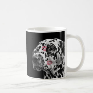 DALMATIAN WEIM LOVE WHITE COFFEE MUG