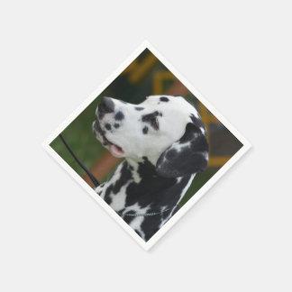 Dalmatian with Spots Disposable Napkin