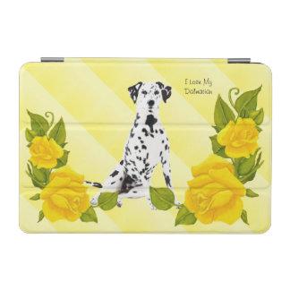 Dalmatian with Yellow Rose iPad Mini Cover