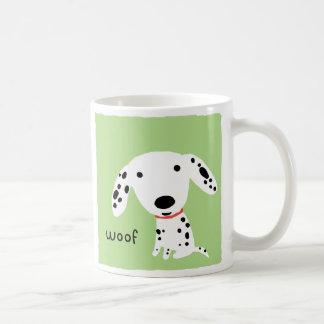 Dalmatian Woof Coffee Mug