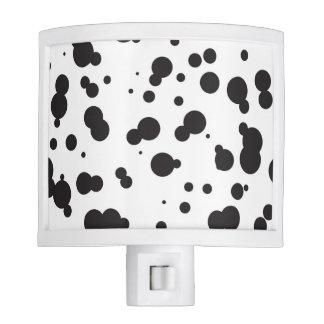 Dalmatine Dots Pattern Night Lites