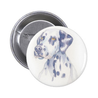 Dalmation 2 Inch Round Button