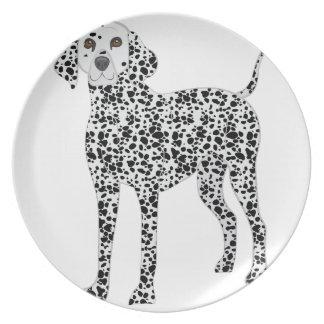Dalmation Dinner Plates